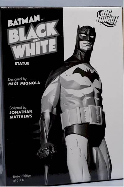 BATMAN BLACK & WHITE #06 : MIKE MIGNOLA Review_migbats_2