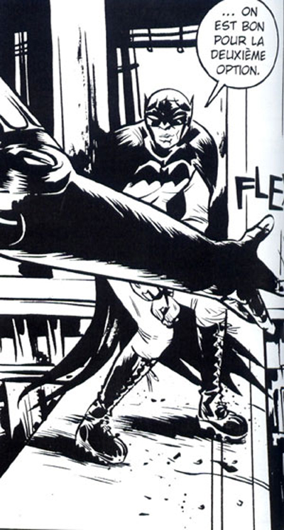BATMAN BLACK & WHITE #09 : PAUL POPE B_w