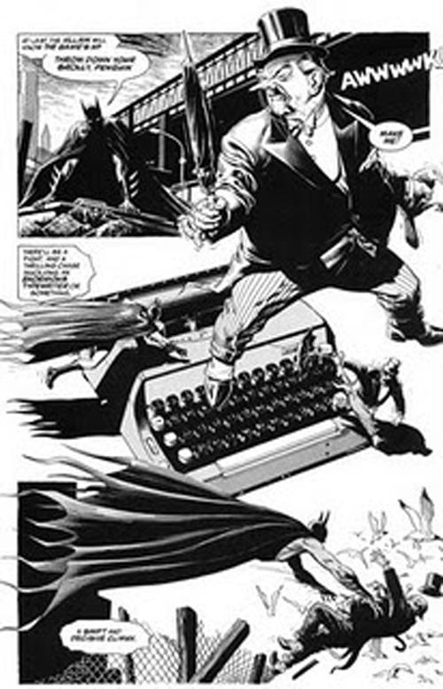 BATMAN BLACK & WHITE VILLAINS #02 : PINGOUIN / BRIAN BOLLAND Brian_bolland._batman._an_innocent_guy._page._005