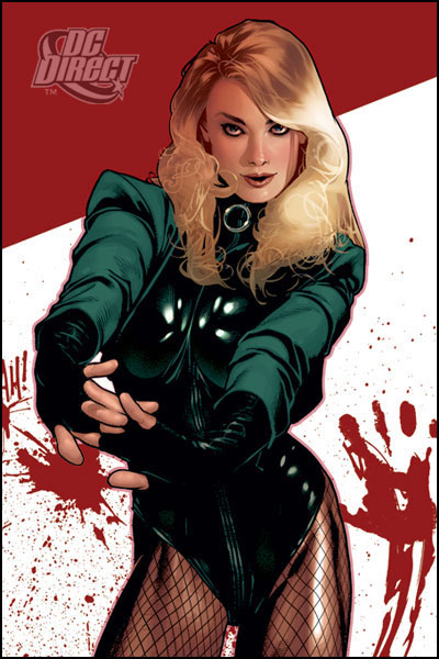 COVER GIRL OF THE DC UNIVERSE : BLACK CANARY Canary