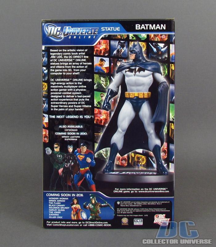 DC UNIVERSE ONLINE STATUE: BATMAN Dc-universe-online-batman-13