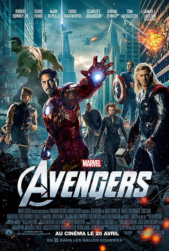 2012 - AVENGERS Avengers_affiche_film