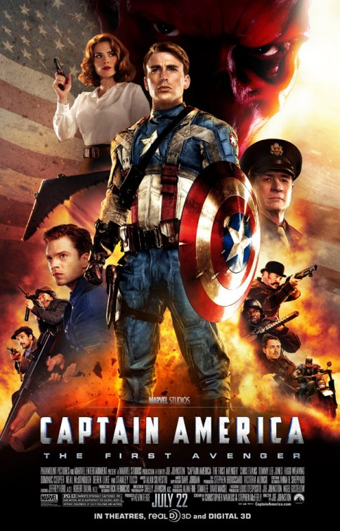 2011 - CAPTAIN AMERICA FIRST AVENGER  Captain_America_First_Avenger_affiche