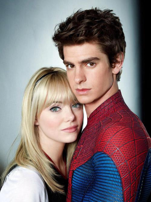 2012 - THE AMAZING SPIDER-MAN  Amazing-spider-man-emma-stone-andrew-garfield-gwen-stacy
