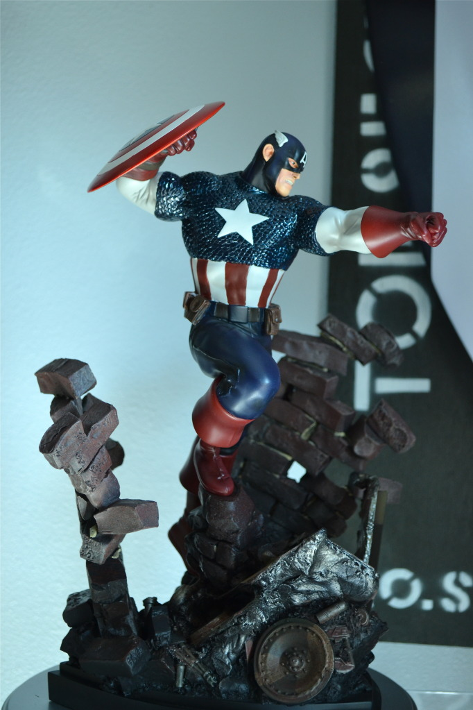 "CAPTAIN AMERICA ""Action"" Bowen_Action_CapAmerica_2"