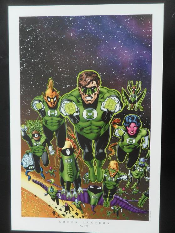 GREEN GALLERY Brian_Bolland_-_Green_Lantern_Corps_art_print