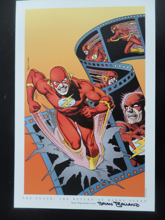 GREEN GALLERY Brian_Bolland_-_The_Flash_art_print_-_SIGNED