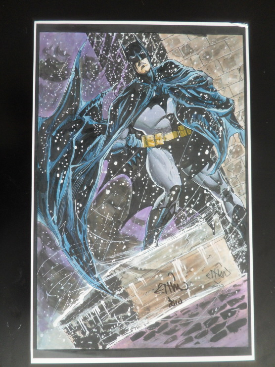 GREEN GALLERY Ethan_Van_Sciver_-_Batman_Art_Print_-_SIGNED