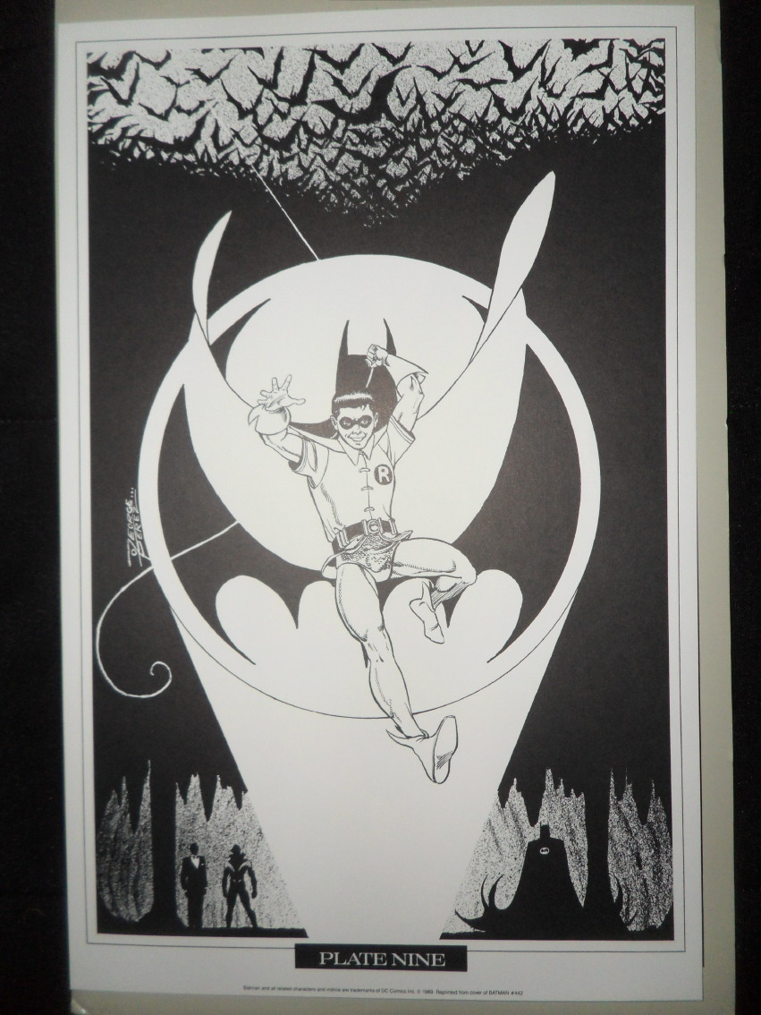 GREEN GALLERY George_Perez_Portfolio_Batman_Teen_Titans_9