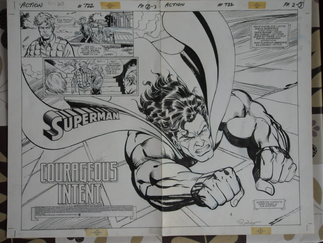 GREEN GALLERY - Page 2 ACTION_COMICS_722_-_Double_Page_Splash_of_Superman_-_robertson_rodier
