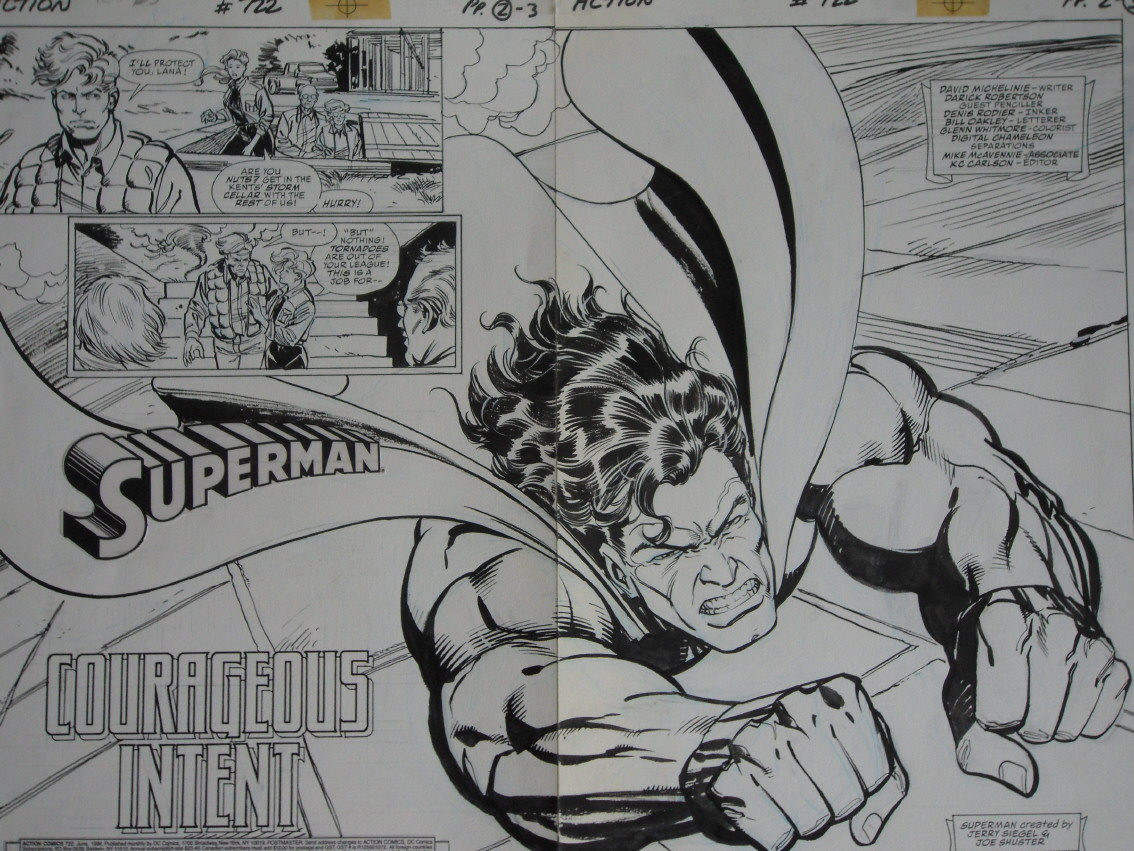 GREEN GALLERY - Page 2 ACTION_COMICS_722_-_Double_Page_Splash_of_Superman_-_robertson_rodier_2