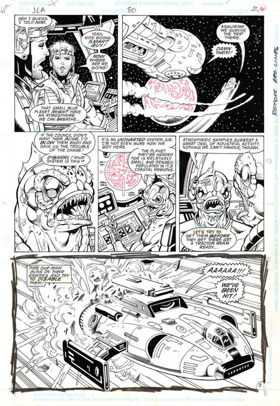 GREEN GALLERY - Page 2 JLA__80_P_2__ALIENS__SPACESHIPS__KEVIN_WEST