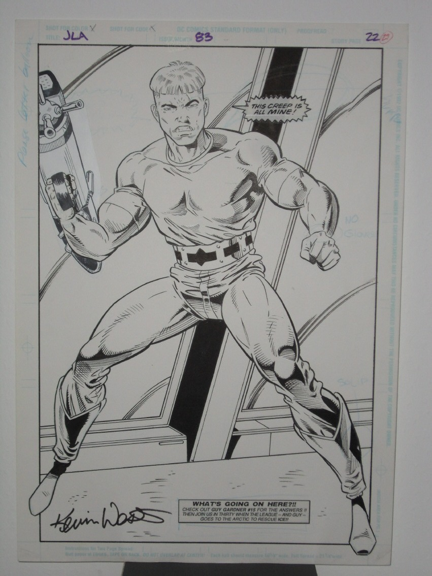 GREEN GALLERY - Page 2 JLA__83_KEVIN_WEST