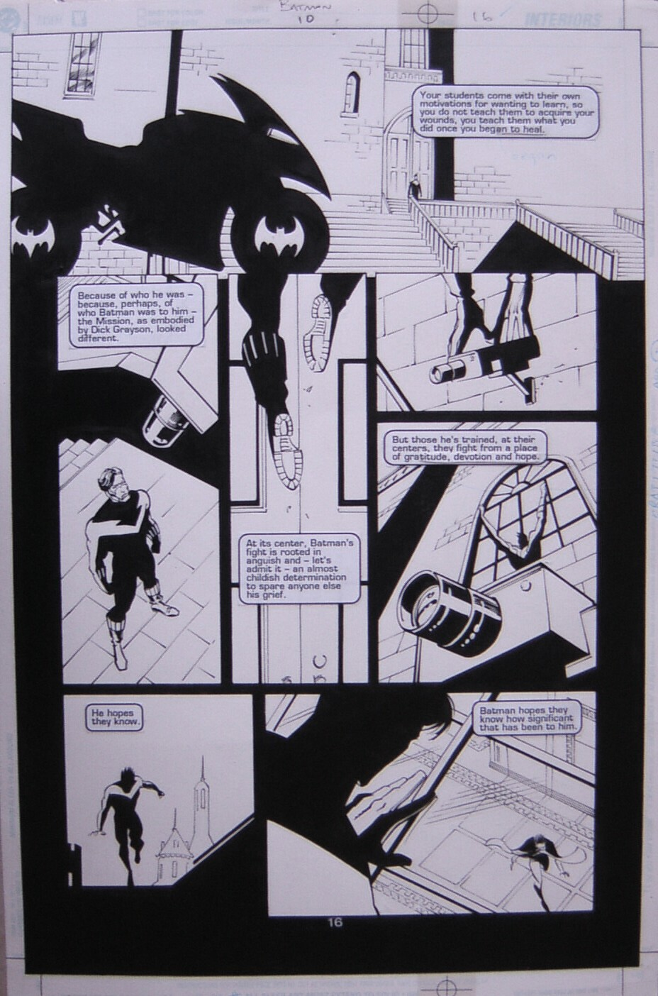 GREEN GALLERY PLANCHE-BATMAN-ROBINSON-DEC-00