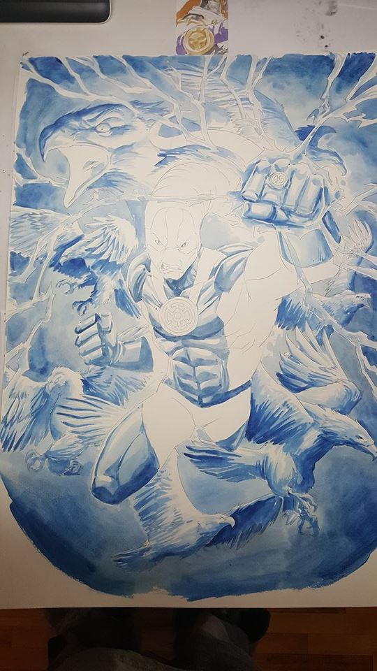 GREEN GALLERY - Page 34 Blue_lantern_saint_walker_paint_watercolor_4_vinz_el_tabanaz_A3