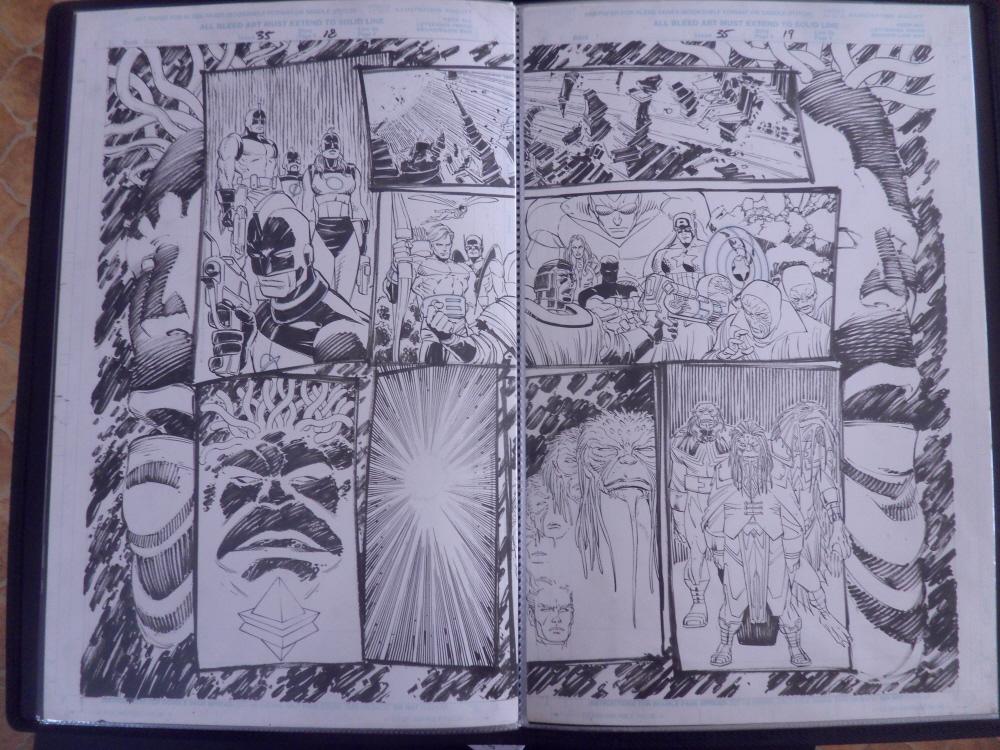 GREEN GALLERY - Page 34 Avengers__35_pgs_18___19_-_Team_Shot_DPS_-_2000_art_by_John_Romita_Jr