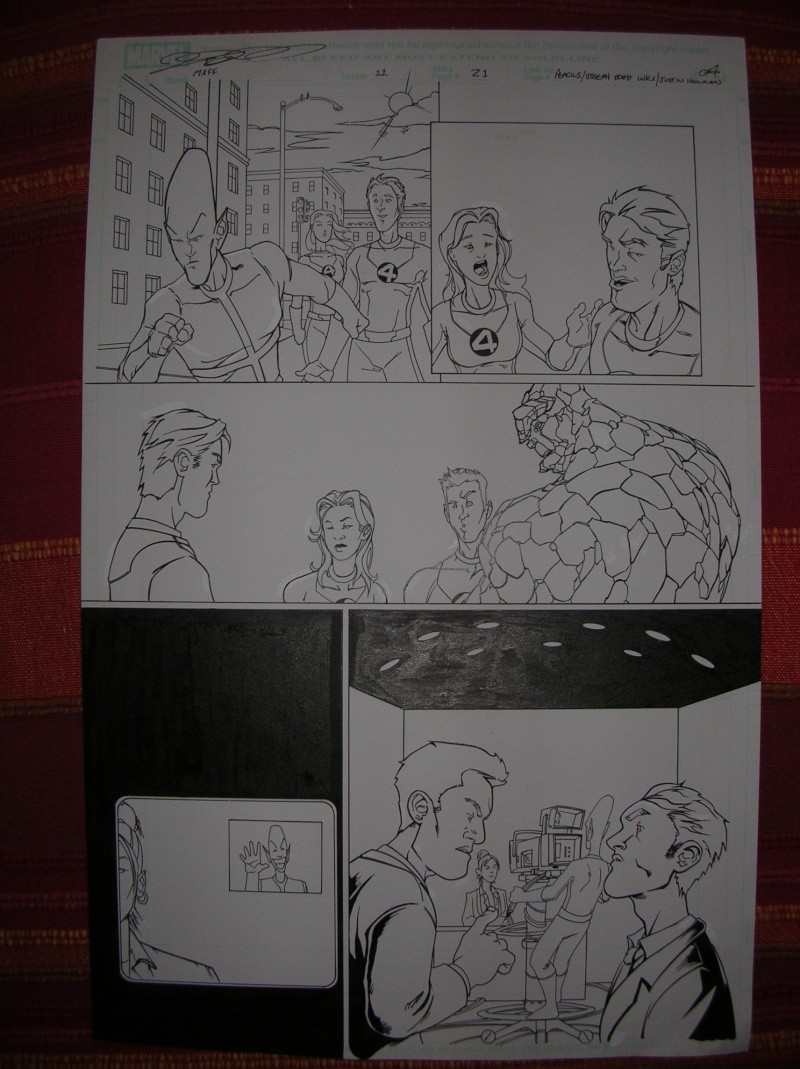 GREEN GALLERY FANTASTIC_FOUR_MARVEL_AGE__11_AVEC_L__HOMME_IMPOSSIBLE_PAR_JOE_DODD