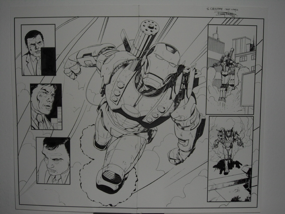 GREEN GALLERY - Page 2 IRON_MAN_2.0__1_BARRY_KITSON_DOUBLE_PLANCHE