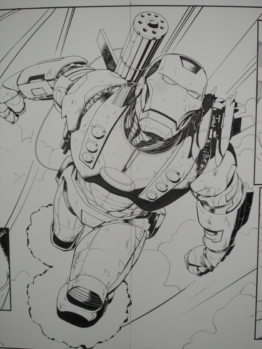 GREEN GALLERY - Page 2 IRON_MAN_2.0__1_BARRY_KITSON_DOUBLE_PLANCHE_2