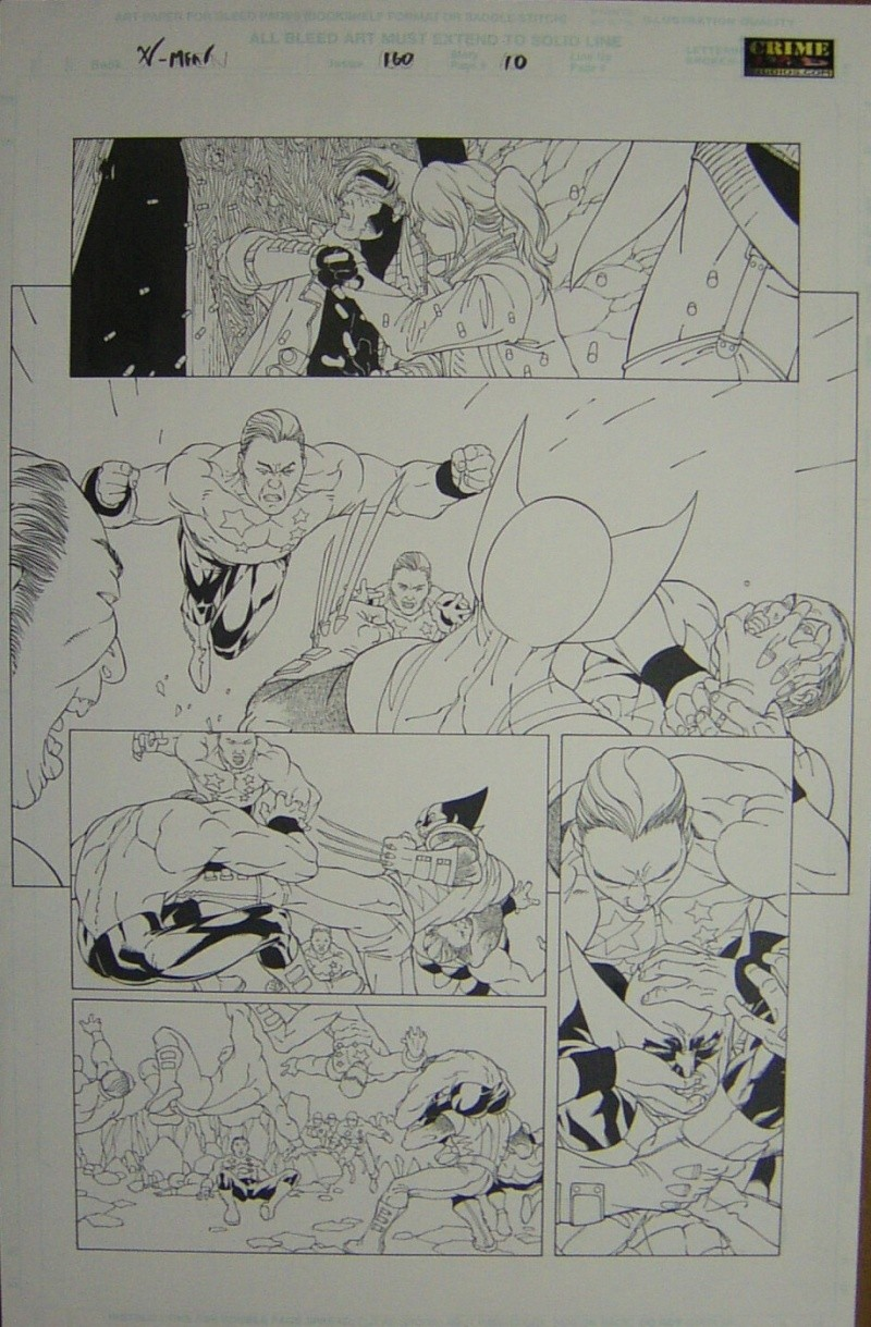 GREEN GALLERY X-MEN__160_PAR_SALVADOR_LARROCA_EN_OCTOBRE_2004