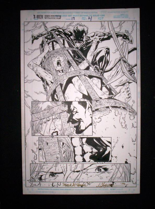 GREEN GALLERY Planche-x-men-unlimited-19