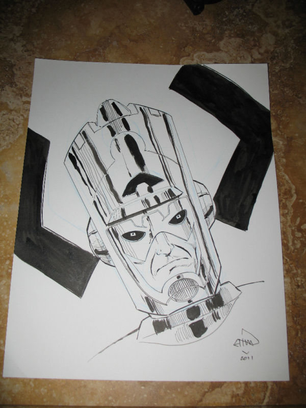 GREEN GALLERY Ethan_Van_Sciver_original_drawing_Galactus