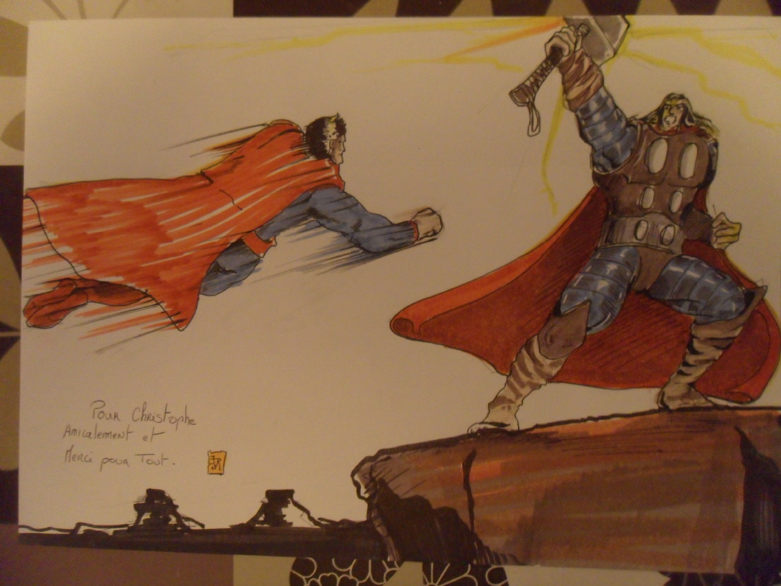GREEN GALLERY - Page 3 THOR_VS_SUPERMAN_FESTIVAL_LILLE_2011