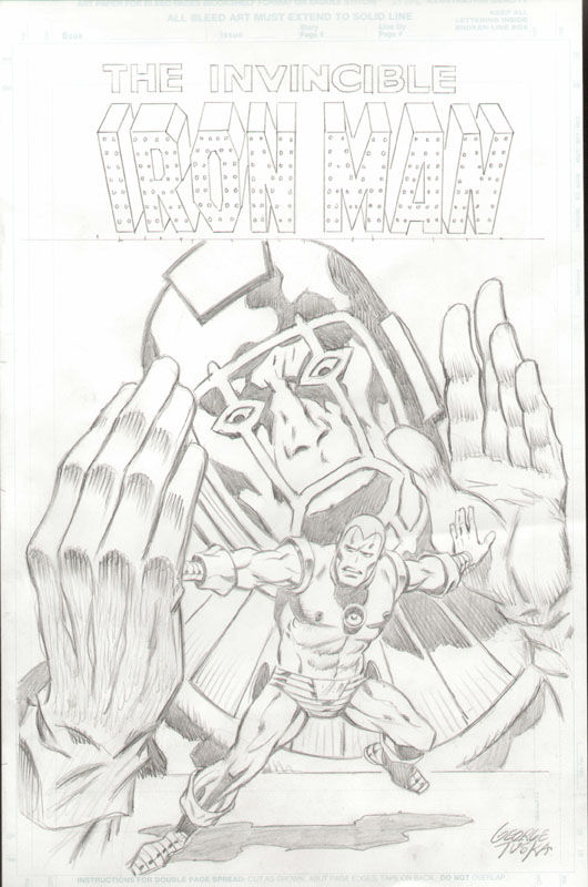 GREEN GALLERY TUSKA_GEORGES___iron_man_cover