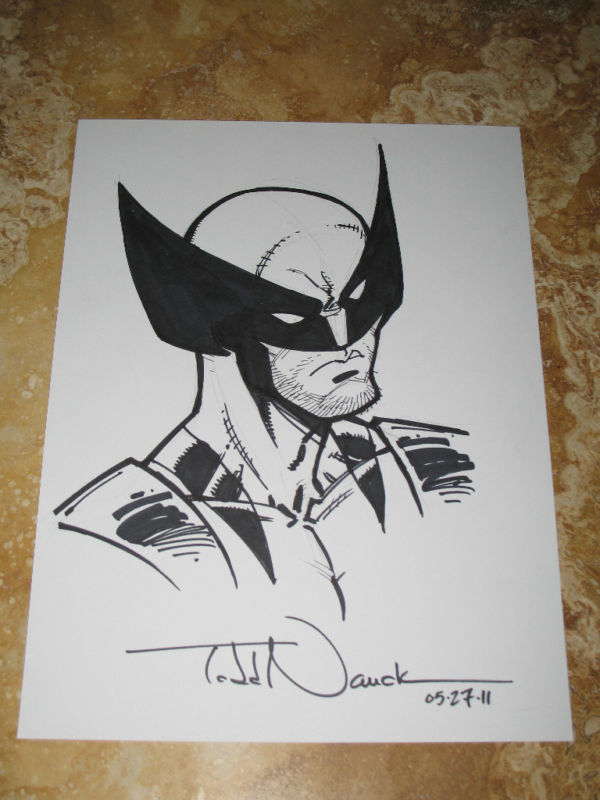 GREEN GALLERY Todd_Nauck_original_Wolverine_2