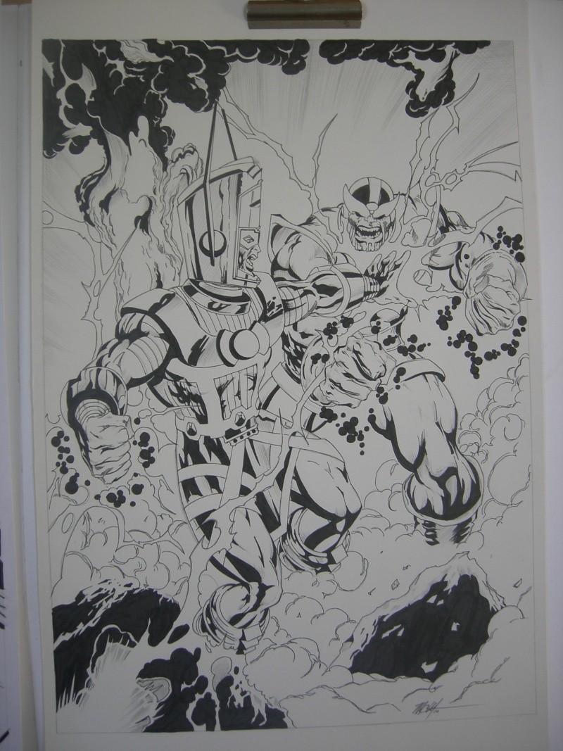 GREEN GALLERY - Page 2 Thanos_vs_galactus_Mc_Wyman_2