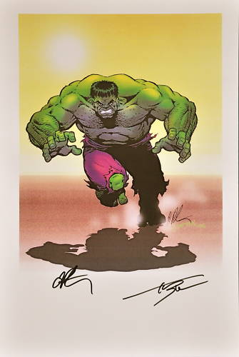 GREEN GALLERY Hulk_par_Jim_Starlin_-print