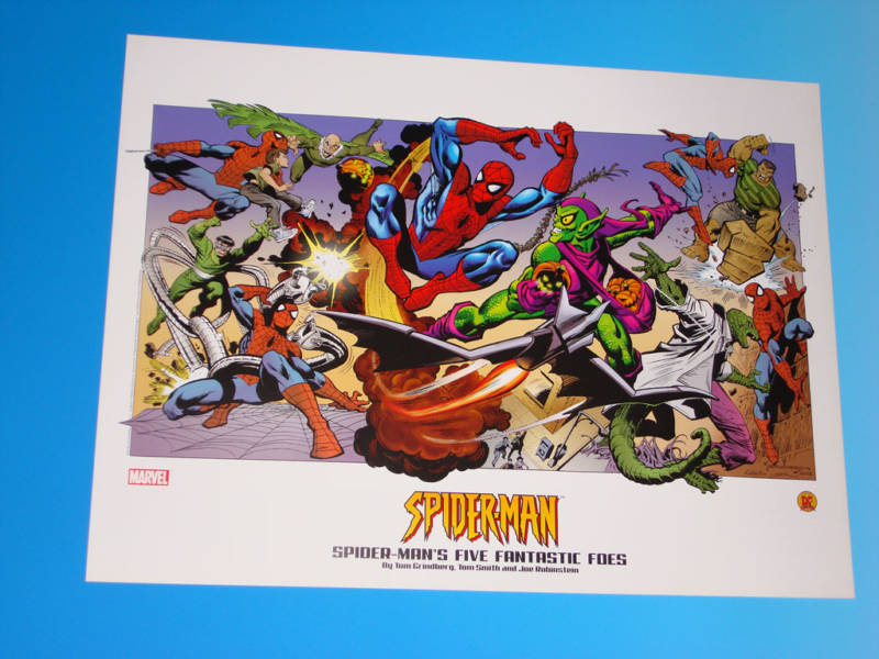 GREEN GALLERY Joe_Rubenstein_lithograph_spiderman