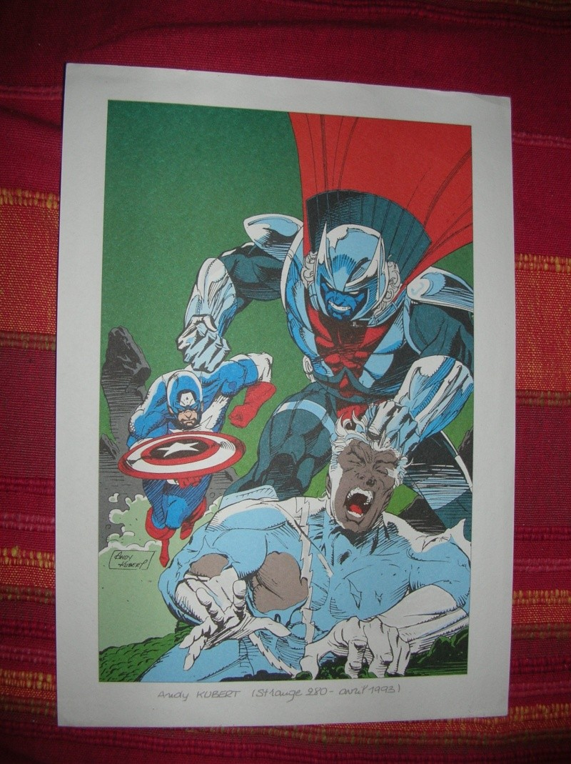 GREEN GALLERY LITHO-AVENGERS-PAR-ANDY-KUBERT