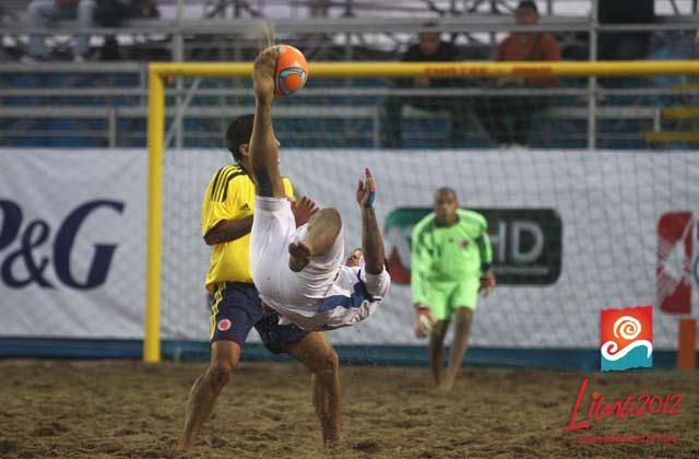 Juegos Bolivarianos - Peru 2012: El Salvador 5 Colombia 2. Esvscolplaya
