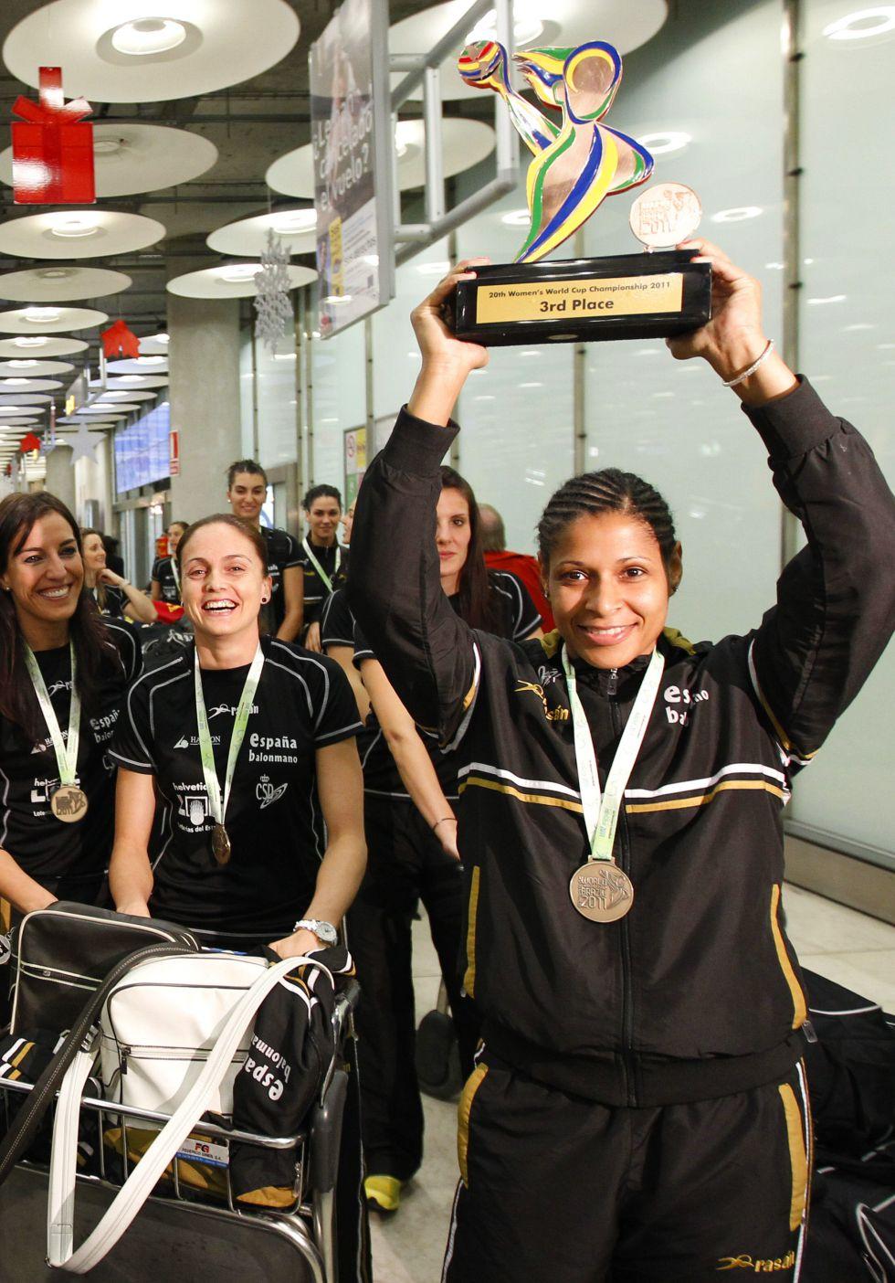 Selección Nacional femenina de Balonmano 2015 1415218403_133263_1415218603_noticia_grande