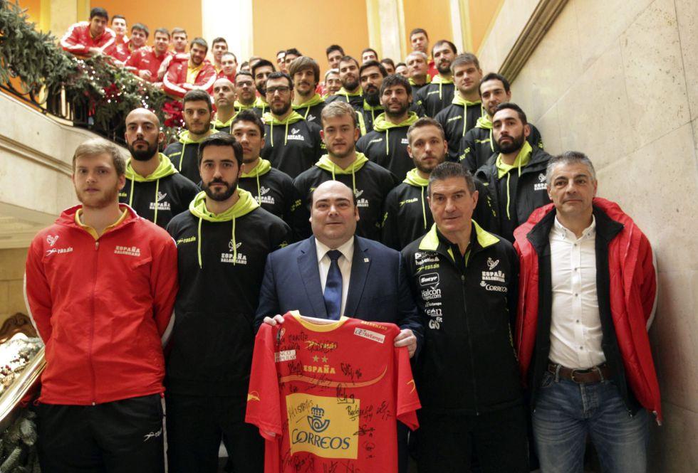 Selección Nacional masculina de Balonmano 1420652891_133485_1420653214_noticia_grande