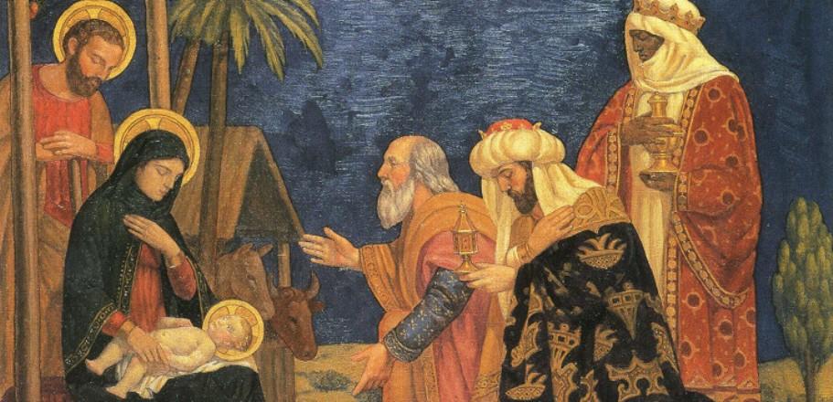 LE LIVRE D'HEURES DE LA REINE ANNE DE BRETAGNE (vers 1503) TRADUIT DU LATIN par M. L'ABBÉ DELAUNAY – Paris - 19 eme sièc La-Nativit%C3%A9-adoration-des-mages-2