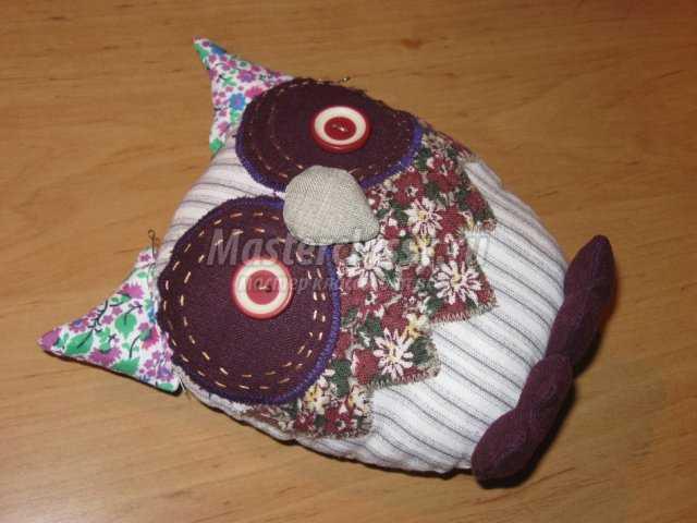 Интерьерная игрушка Сова 1361753478_0-071