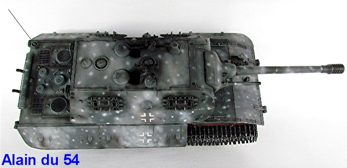 "E-100 Heavy Tank Nachtjäger 1/35 ""39-45"" series Dragon IMG_5477"
