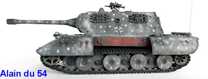 "E-100 Heavy Tank Nachtjäger 1/35 ""39-45"" series Dragon IMG_5491"