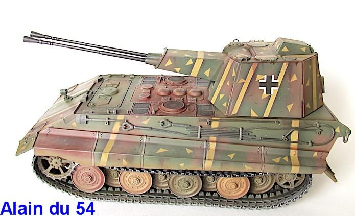 Flak Panzer E-75 Hintern 1/35 Transformation Trumpeter IMG_3200