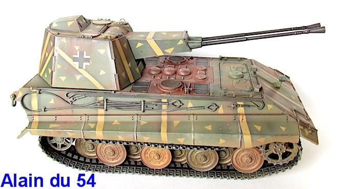 Flak Panzer E-75 Hintern 1/35 Transformation Trumpeter IMG_3201