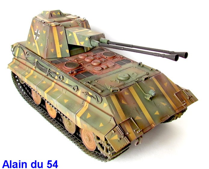 Flak Panzer E-75 Hintern 1/35 Transformation Trumpeter IMG_3202