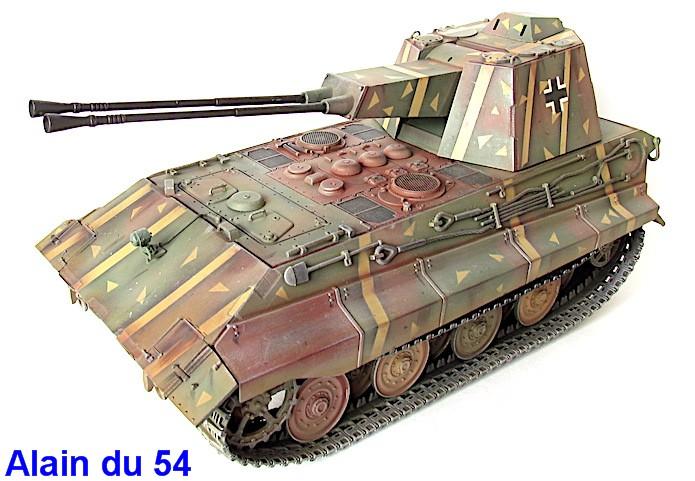 Flak Panzer E-75 Hintern 1/35 Transformation Trumpeter IMG_3203