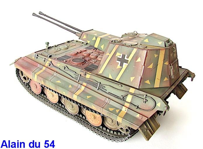Flak Panzer E-75 Hintern 1/35 Transformation Trumpeter IMG_3204