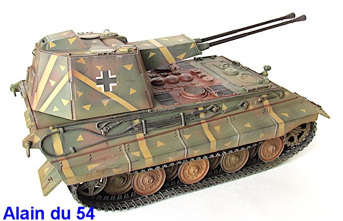 Flak Panzer E-75 Hintern 1/35 Transformation Trumpeter IMG_3205