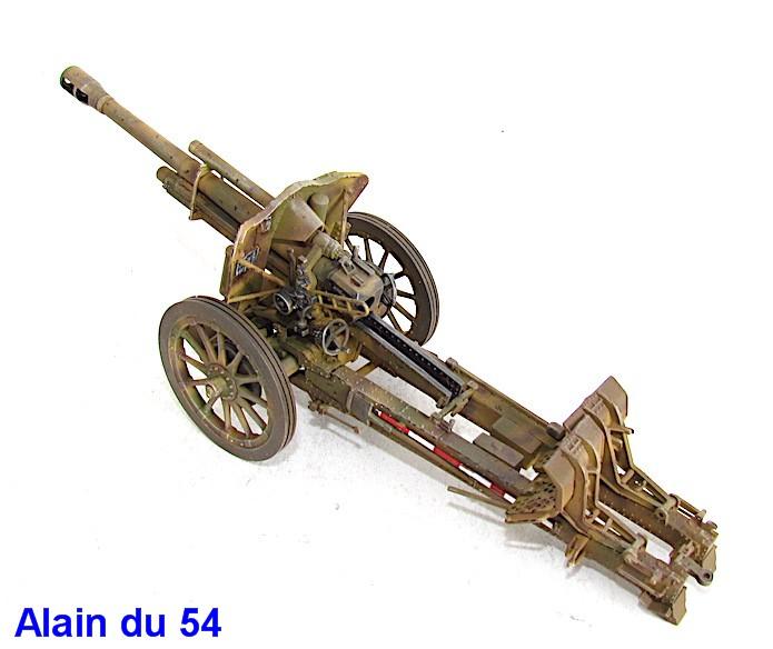 German 10.5cm LeFH18M Howitzer 1/35 AFV club IMG_2490