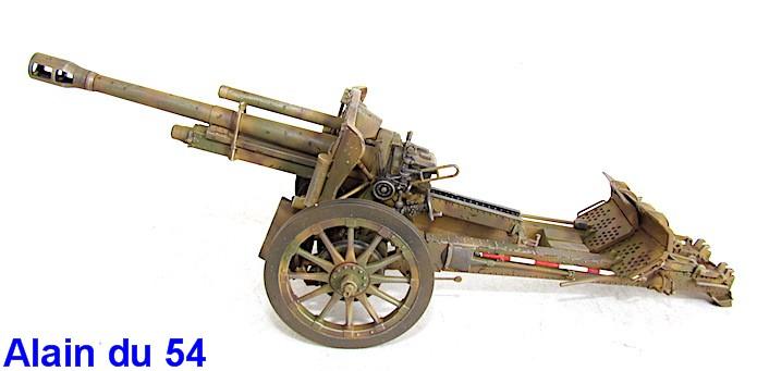 German 10.5cm LeFH18M Howitzer 1/35 AFV club IMG_2494