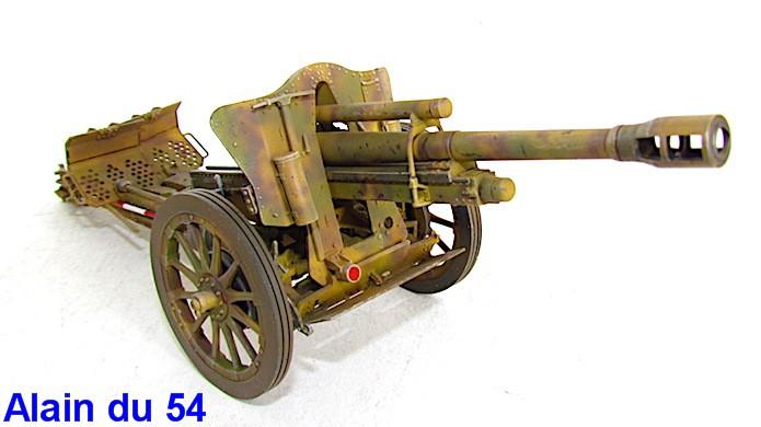 German 10.5cm LeFH18M Howitzer 1/35 AFV club IMG_2496