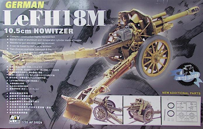 German 10.5cm LeFH18M Howitzer 1/35 AFV club IMG_AAAA